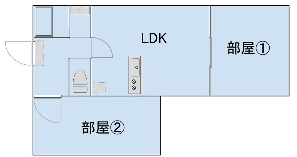 間取り⑤:2LDK